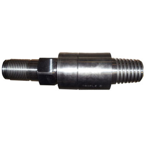 """CX 250055100 Tail Piece for Vermeer Compatible Transmitter Housings 1.625"""" LP Hex Pin x 2.00"""" API IF Pin 7x11, 10x15"""