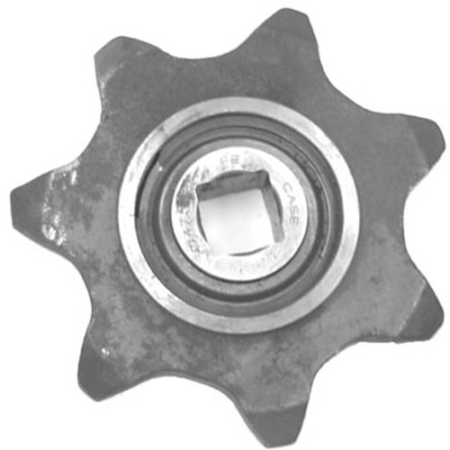 CA531251 7 Tooth Boom End Idler Sprocket Assembly--Includes Bearing and Snap Ring