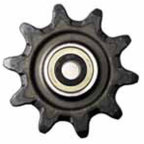 "DW140-665 10 Tooth One Piece Hex Auger Sprocket with 5.625"" Hub Length 3.067"" Chain"