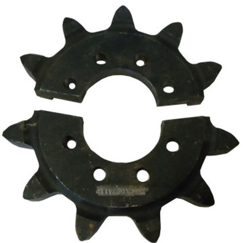 "DW141-589 11 Tooth Split Head Shaft Drive Sprocket for RT70, RT90 and RT115 with H911 Attachment 3.067"" Chain"