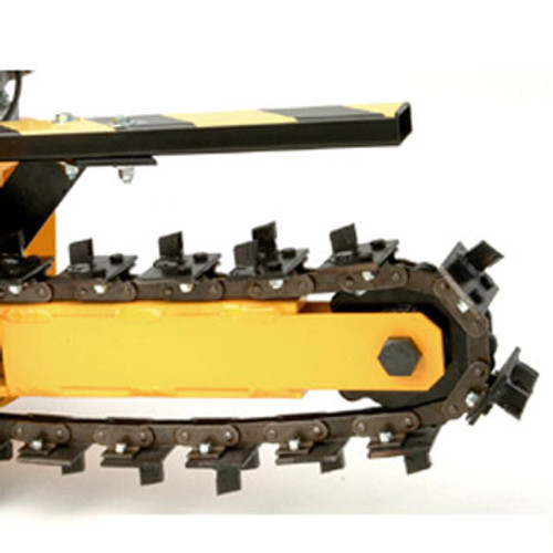 """GH15004T21 21 Station 4"""" Wide, Bolt-On Shark/Scorpion Chain (18"""" Boom)"""