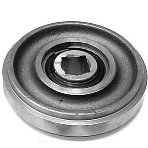 DW142-754 Boom End Idler Roller Assembly--Includes Square Hole Bearing and Snap Ring