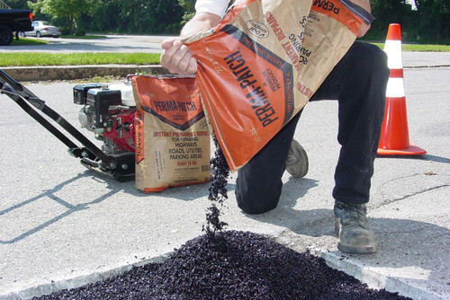 Perma Patch pouring patching and repairing compound