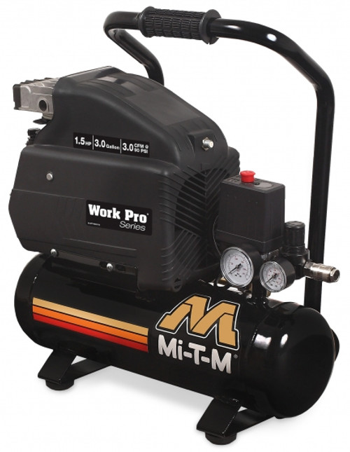 MI AM1-HE15-03M 3.0 CFM Electric Air Compressor - Work Pro Series
