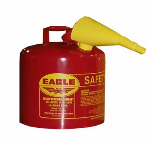 Red Safety Gas Can 5 gallon