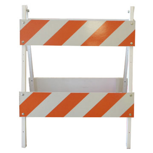 "The SP 2038 400RF-OII Type II 36"" Wide Barricade is an A-Frame Barricade.  Orange and White with Reflective Sheeting"