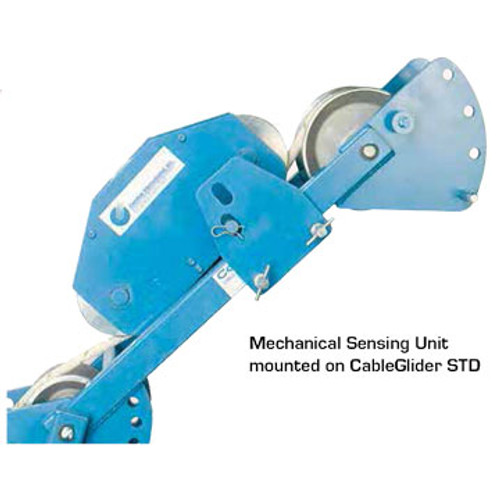 Condux 08677350 Mechanical Sensing Unit mounted on CableGlider STD