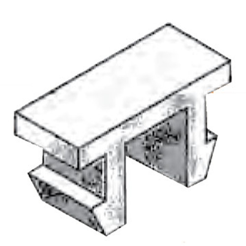 The condux 08381210 Plastic Retaining Clip. For more information on this product, contact our knowledgeable professionals at 800-245-8339.