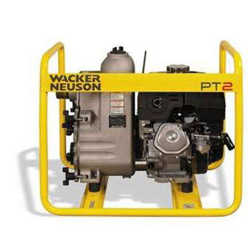 The 0009092 Wacker Neuson PT 2A is a high-performance centrifugal trash pump designed to keep your job site dry. With an optimized impeller design and built-in contractor-friendly features, this pump redefines the quality and durability standards of self-priming centrifugal trash pumps.