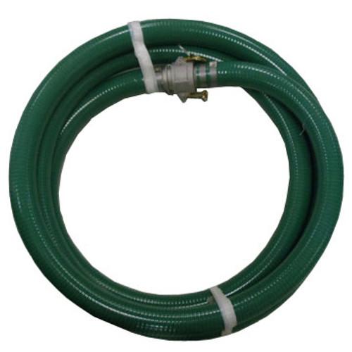 """HA GD1550-Q 1.50"""" x 50' Green, Quick Coupled M x F Andrews Aluminum"""