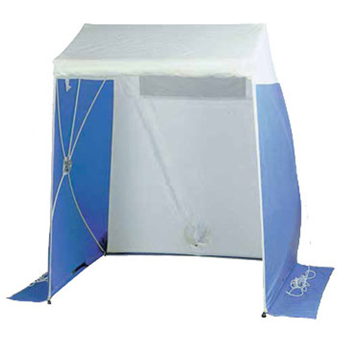 The Condux QuickTent is a portable, freestanding work shelter.