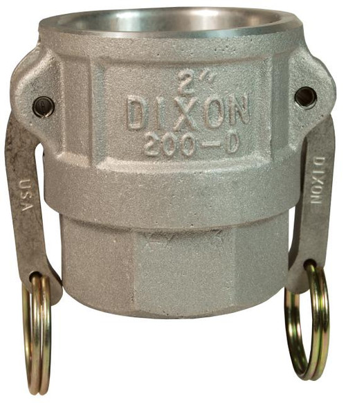 "DV 200-D-AL 2"" Aluminum Female Coupler X Female NPT"