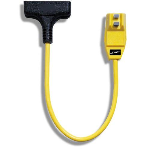 LC TRICORD TRC 14880023-6 12/3-Gauge Shockshield GFCI Protected Right Angle Plug Tri-Cord