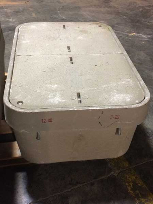 CDR 243618 24 x 36 x 18 Box W/Lid, No Logo, Open Bottom, Standard Duty, Straight Wall
