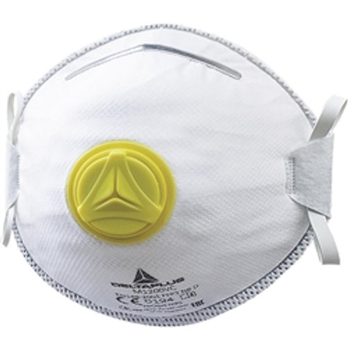 ELVEX M1200V Disposable Respirator with Valve.  N95/FFP2/APF10  10ea per Box.