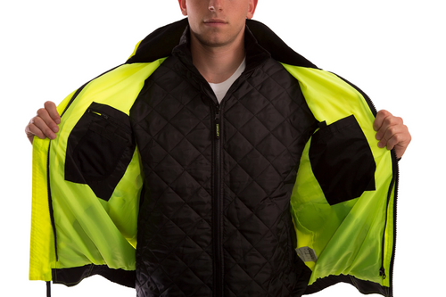 The Bomber 3.1 ANSI Compliant High Visibility Insulated Jacket