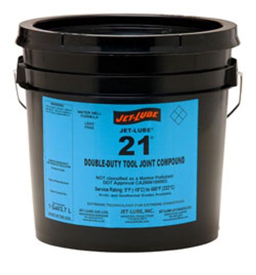 JL 10912 Jet Lube--Arctic Grade Copper Formula HDD Thread Lube 2 Gallon