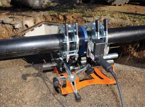 Gamma 160 Manual Butt Fusion Machine - RIT GAMMA160