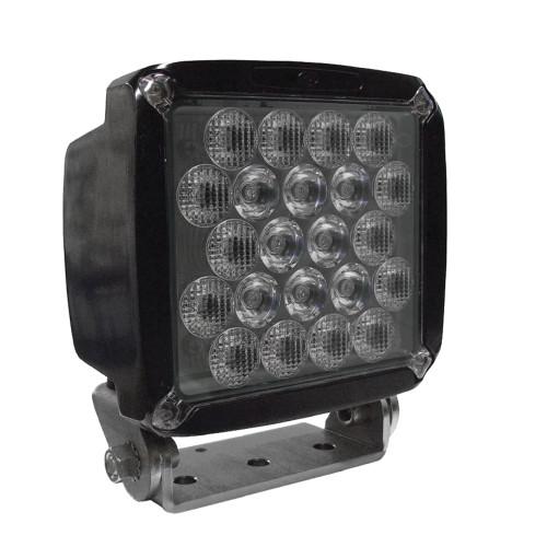 50-watt HDI Series LED Equipment Light, Spot/Wide Beam