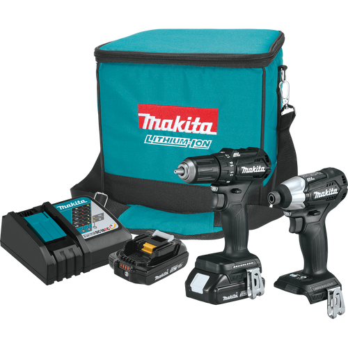 Makita CX200RB  18V LXT® Lithium‑Ion Sub‑Compact Brushless Cordless 2‑Pc. Combo Kit (2.0Ah)