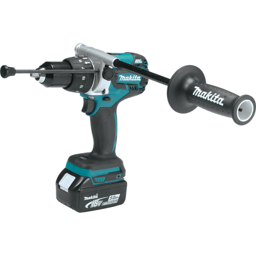 Makita XT268T 18V LXT® Lithium‑Ion Brushless Cordless 2‑Pc. Combo Kit (5.0Ah) Hammer Drill