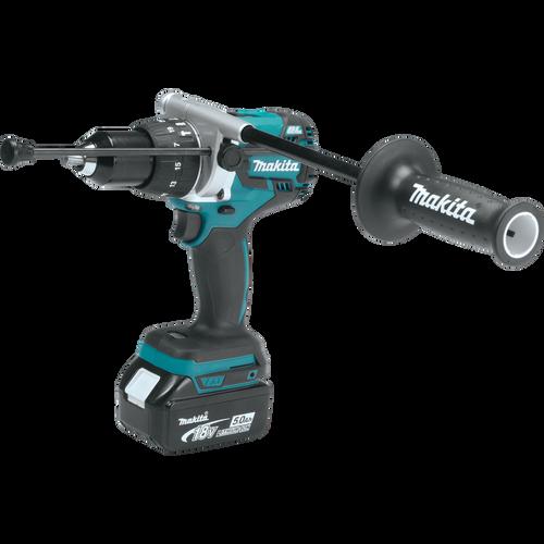 Makita XT268T 18V LXT® Lithium‑Ion Brushless Cordless 2‑Pc. Combo Kit (5.0Ah) Hammer Drill