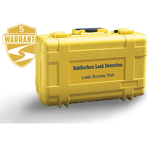LD-18 Subsurface Water Leak Detector Case. Includes: ABS custom case, Screw driver, Waist strap, USB cable, Instruction manual