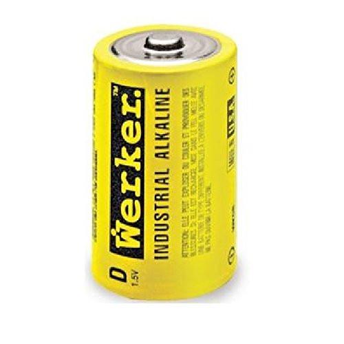 Werker D Alkaline Battery