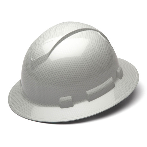 Hard Hat, SHINY, White Ridgeline