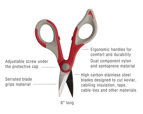 Wire & Kevlar Cutting Shears