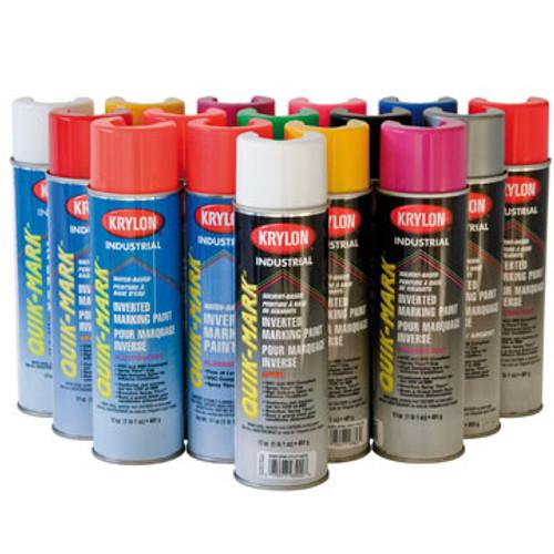 KRYLON S03630 Fluorescent Safety Green WB 20 oz Cans (17 oz net wt) Case pack 12