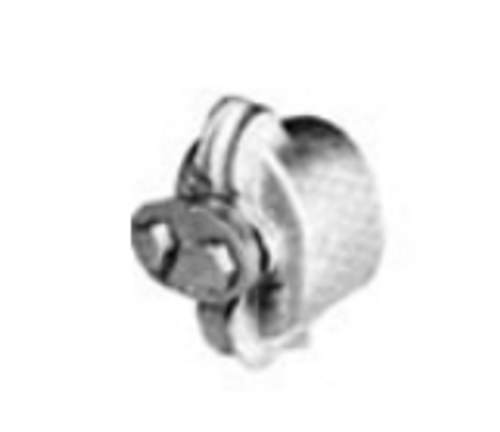 """2"""" Sidewalk Guy- Pipe End - Clamp End Fitting 1/4""""-9/16"""""""