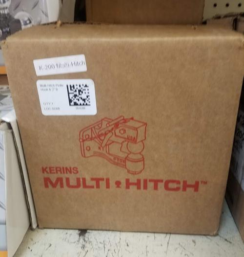 "Multi-Hitch Pintle Hook & 2"" Ball - TR-K200"