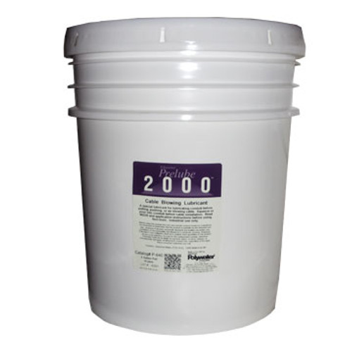 PW P-640 PreLube 2000 5 Gallon Fiber Optic Blowing Lube
