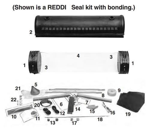 "4"" x 25.8"" REDDI Seal Closure - with Bonding"