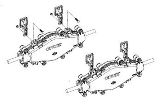 COYOTE Universal Mounting Bracket for Handholes - 8003835
