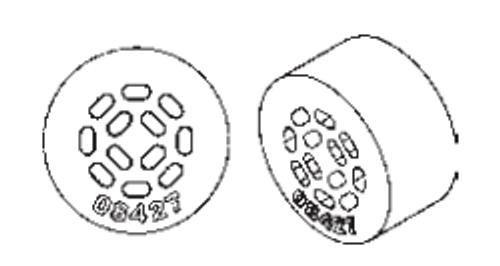 Flat Drop ONLY 12-Hole Grommet Kit - 8003796