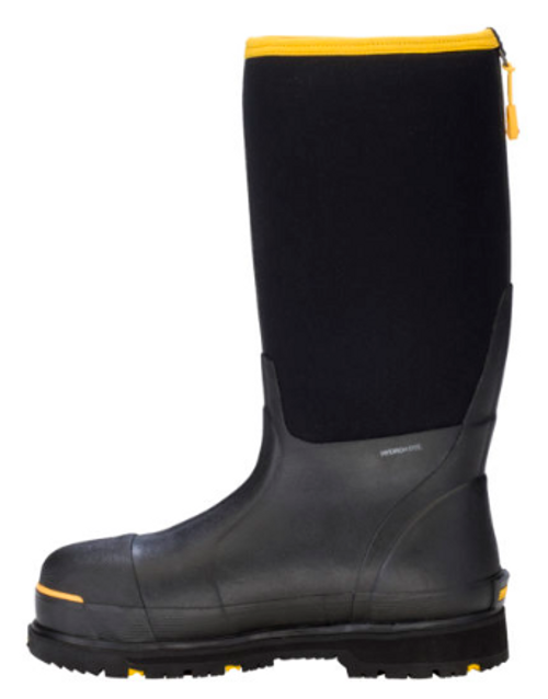 Unisex Steel-Toe Protective Work Boots