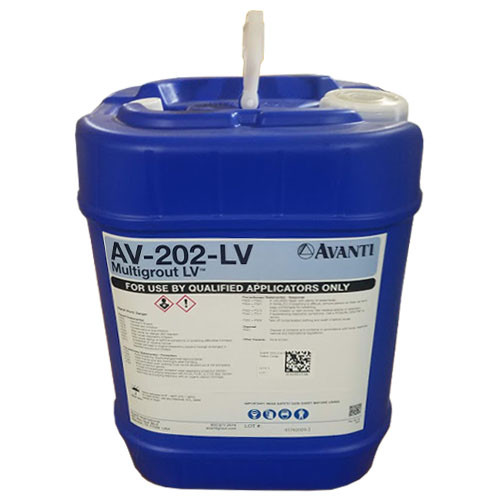 Avanti 202 Low Viscosity Multi Grout Cartridges 5 Gallon