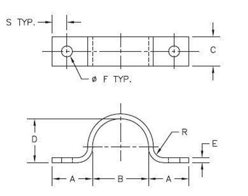 U CABLE GUARD STRAP SZ 2 - MSI SI-0077