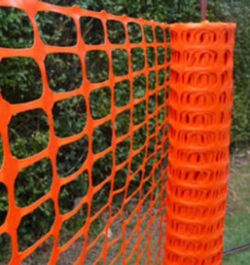 4' x 100' Economy Orange Beacon Safety Fence