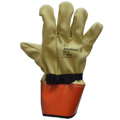 """SAFILP3S Dielectric Gloves #8 North 12"""" Protector"""