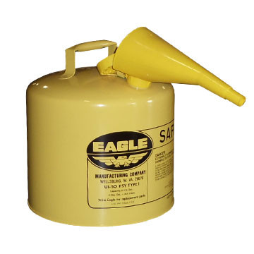Safety Gas Can >> Diesel 5 Gallon Yellow Safety Gas Can Em Ui50fsy