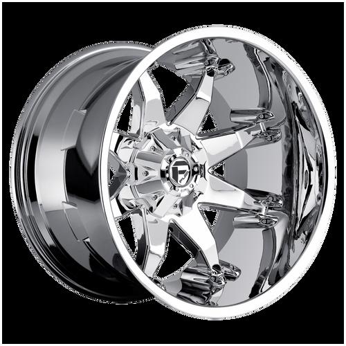 20x12 6x5.5/6x135 4.75BS D508 Octane Chrome - Fuel Off-Road