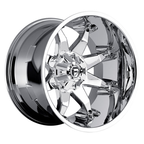 20x9 6x5.5/6x135 5.75BS D508-1 Octane Chrome - Fuel Off-Road