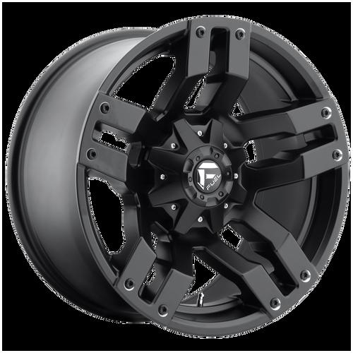 18x9 6x5.5/6x135 5.75BS D515 Pump Matte Black - Fuel Off-Road