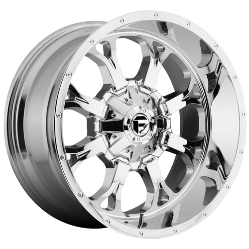 20x10 8x6.5 5BS D516 Krank Chrome - Fuel Off-Road