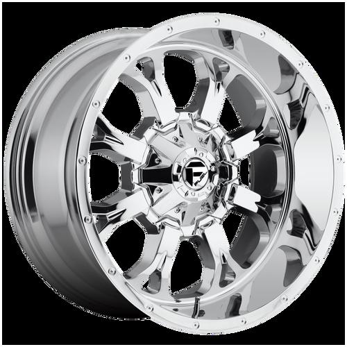20x9 6x5.5/6x135 5BS D516 Krank Chrome - Fuel Off-Road