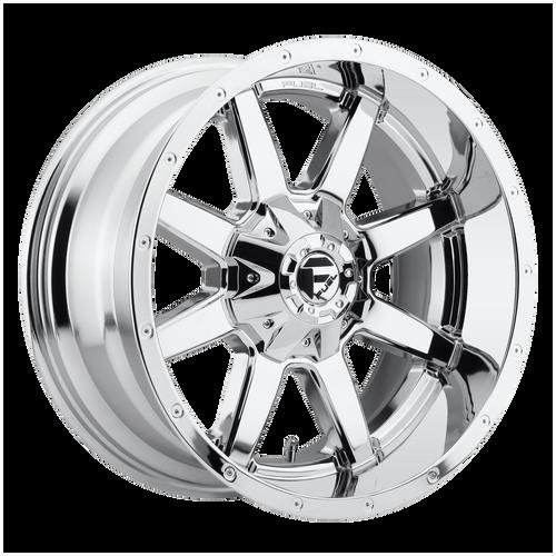 20x12 6x5.5/6x135 4.75BS D536 Maverick Chrome - Fuel Off-Road