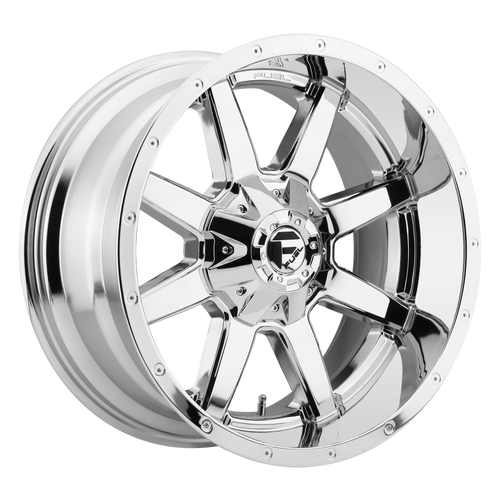 20x9 8x6.5 5BS D536 Maverick Chrome - Fuel Off-Road